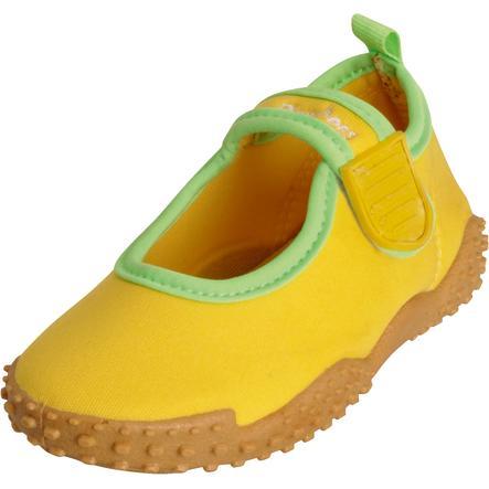Playshoes Scarpette da mare con protezione UV 50 + gialle