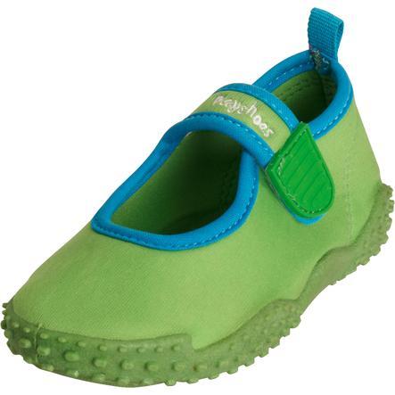 Playshoes Zapatos Aqua con protección UV 50+ verde