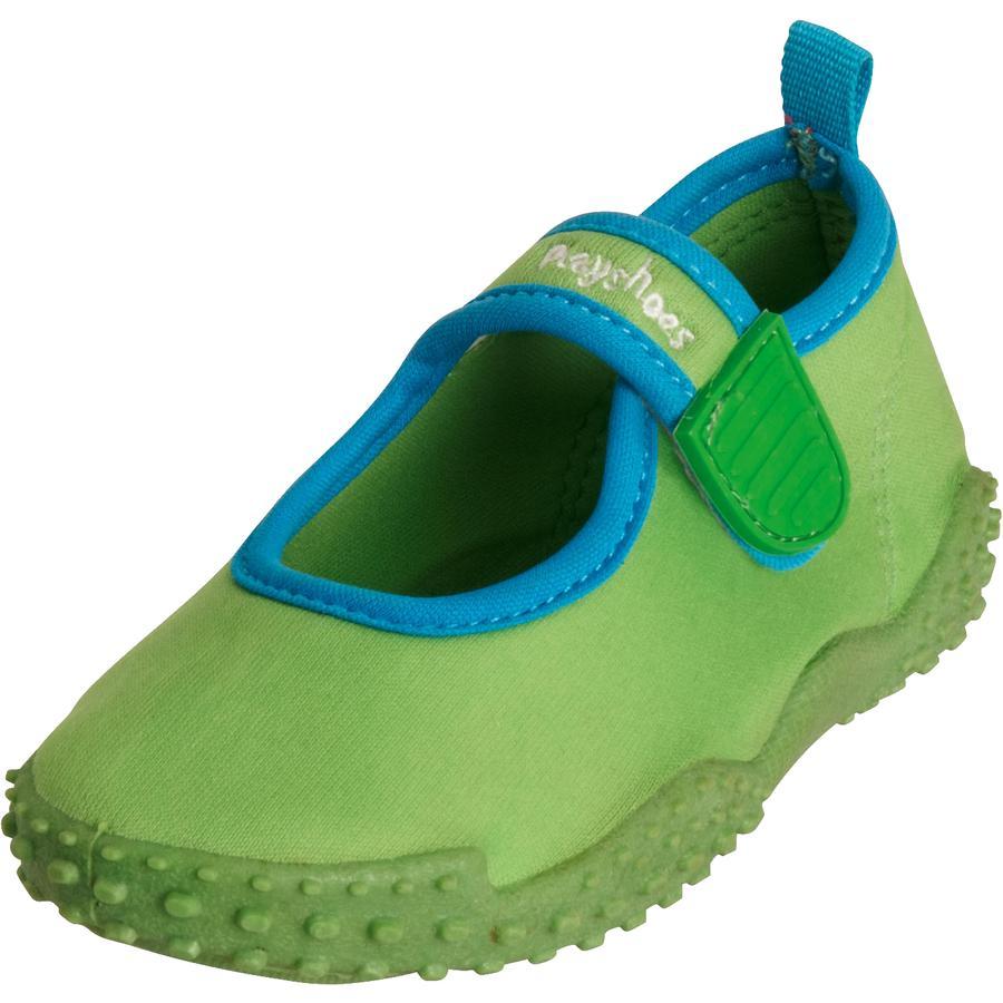 Playshoes Scarpette da mare con protezione UV 50 + verdi