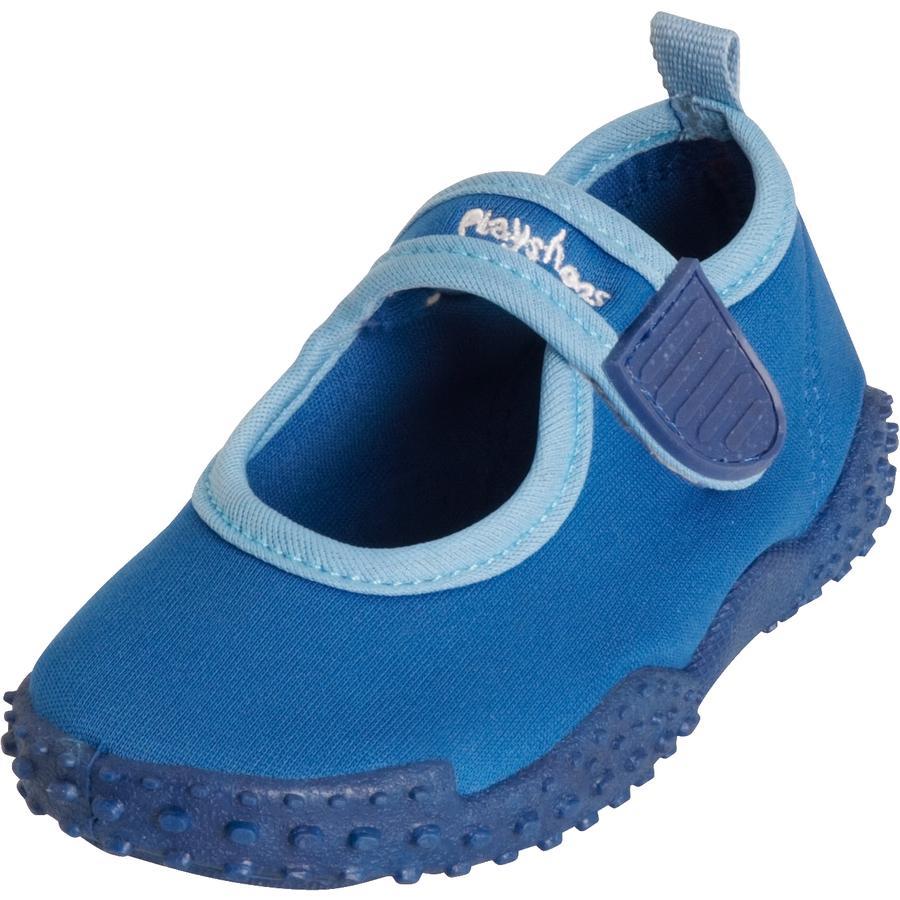 Playshoes Aqua skor med UV-skydd 50+ blå