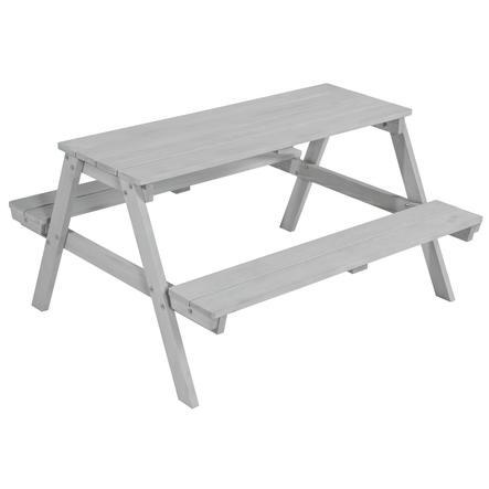 roba dětská sedací souprava s lavicí pro 4 Picknick, šedivá