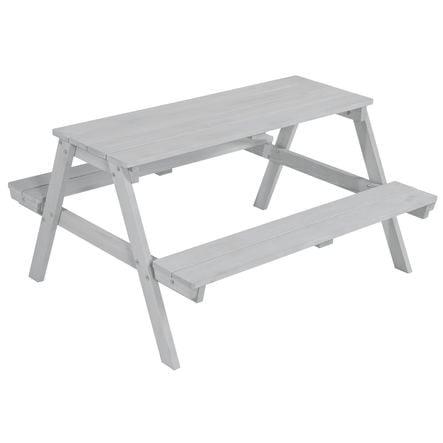 roba Table et banc pique-nique pour 4, bois, gris