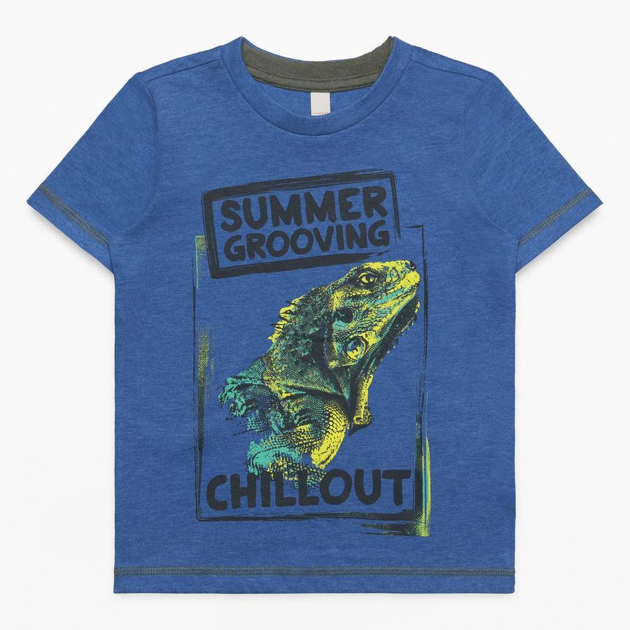ESPRIT Boys T-Shirt bleu foncé