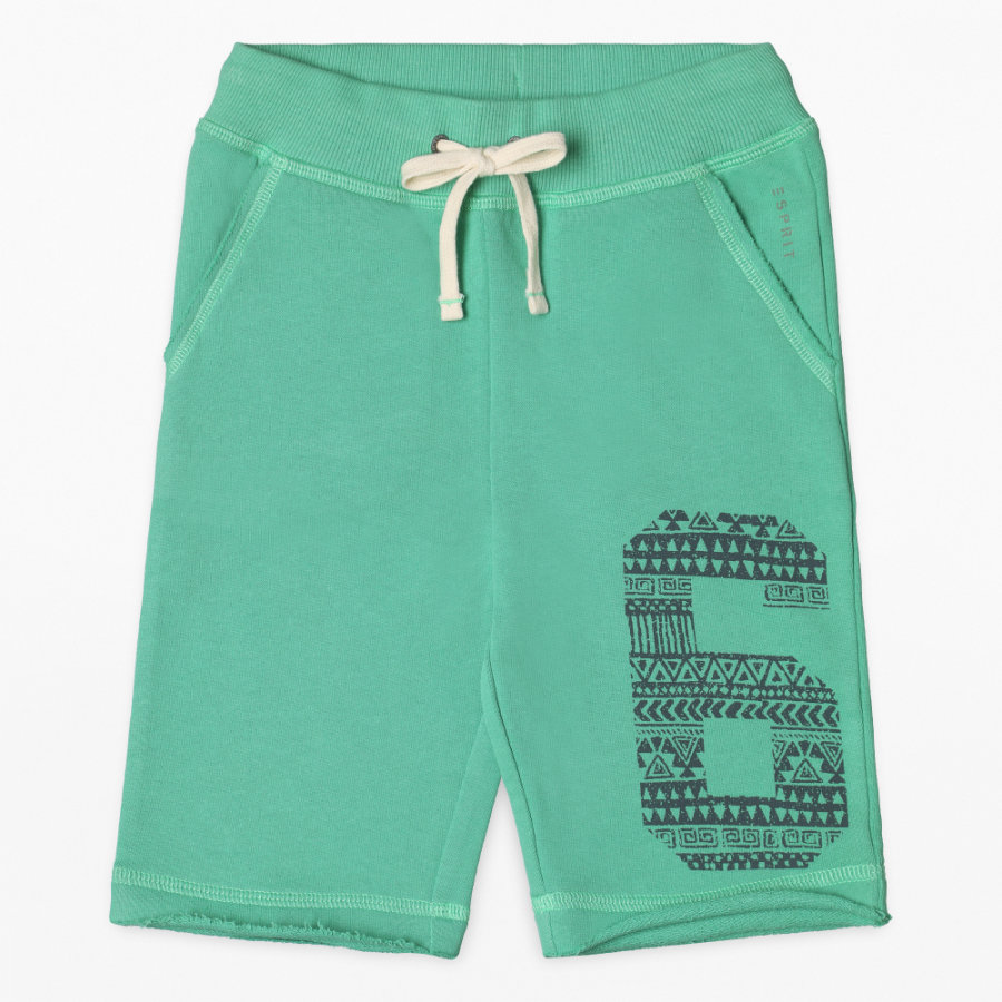 ESPRIT Boys Pantalones cortos emeraude