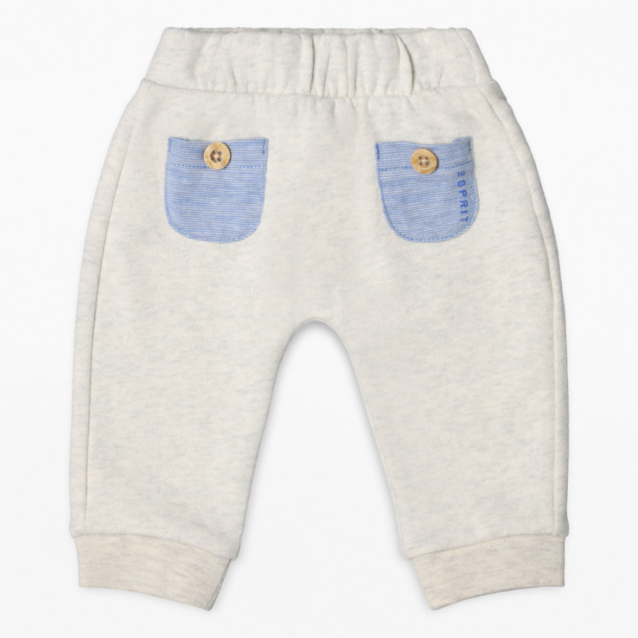 ESPRIT Boys Pantalon de survêtement crème bruyère