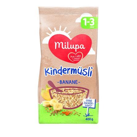 MILUPA Kids' Muesli Banana 400g