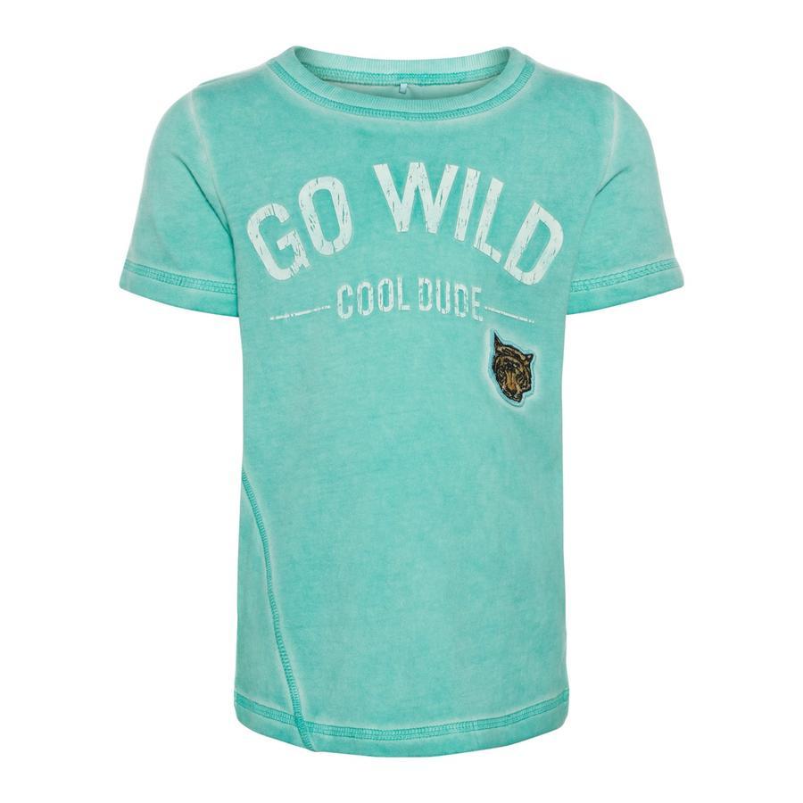 name it T-shirt enfant Gaxel pool blue