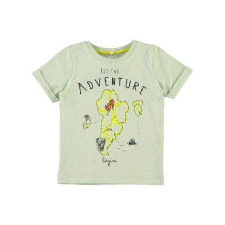 name it Boys T-Shirt Gabillon dusty aqua