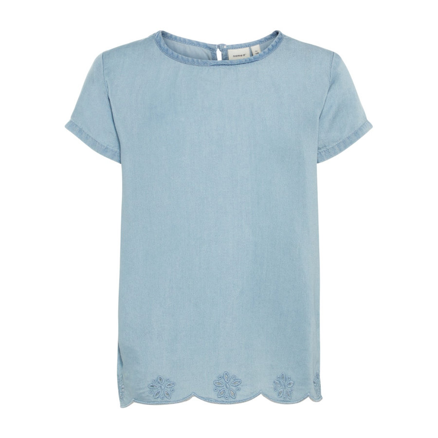 name it Girls T-Shirt Akkamma light blue denim