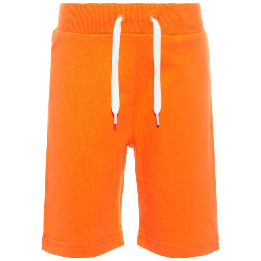 name it Boys Pantaloncini Vermond arancione shocking orange