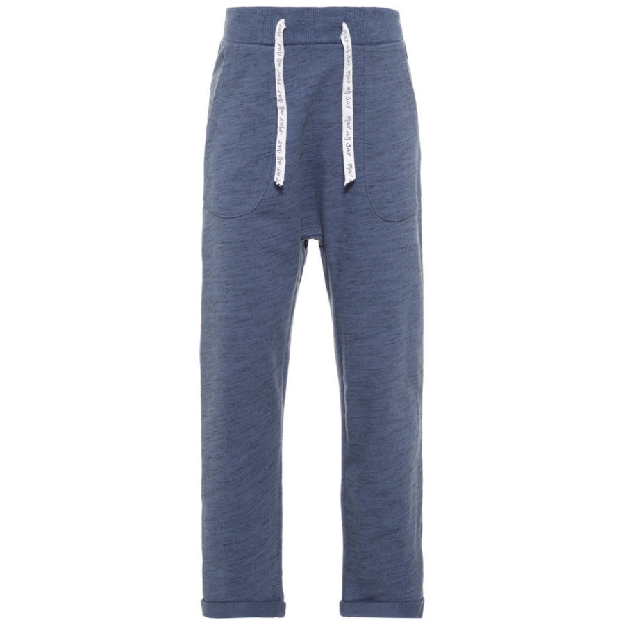 name it Boys Pantalones de chándal añil vintage