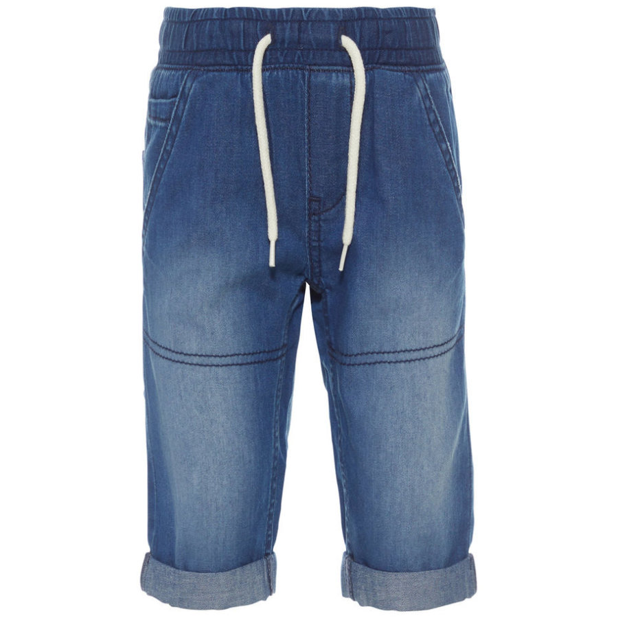 name it Boys Spijkerbroek donkerblauw denim