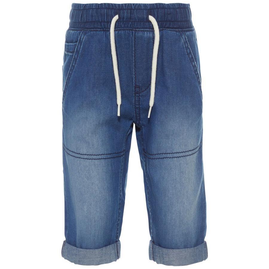 name it Chlapecké džíny tmavě modrá džínovina