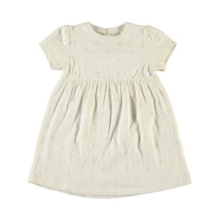 name it Girls Kleid Garfiffi bright white