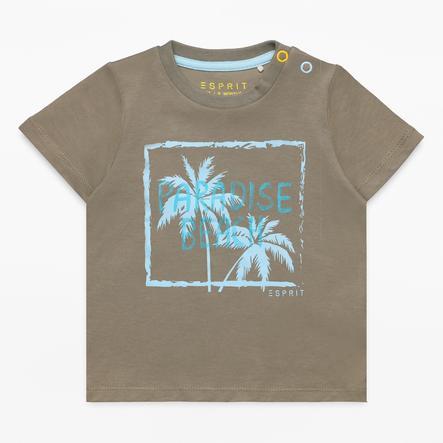 ESPRIT Boys T-Shirt kaki pâle