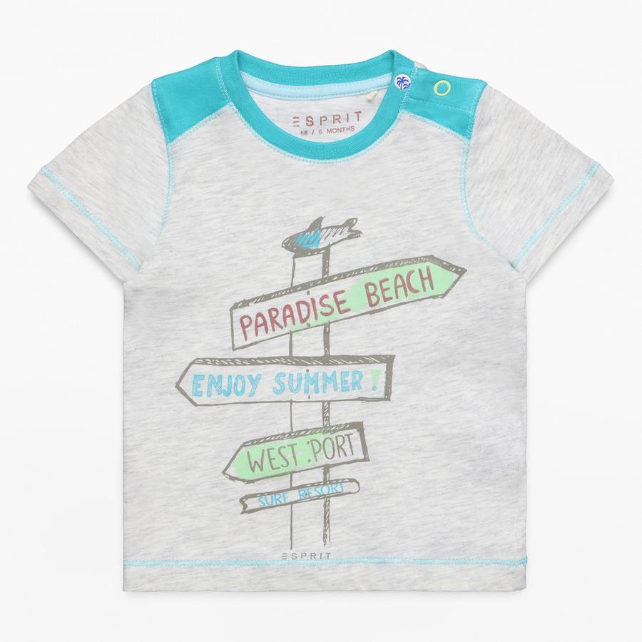 ESPRIT Boys T-Shirt krem wrzosowy