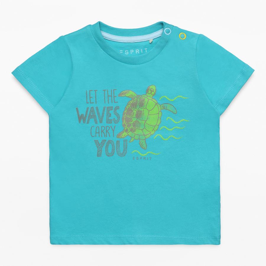 ESPRIT Boys T-Shirt groenblauw