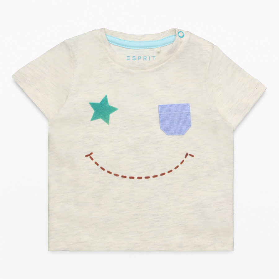 ESPRIT Boys T-Shirt heather cream