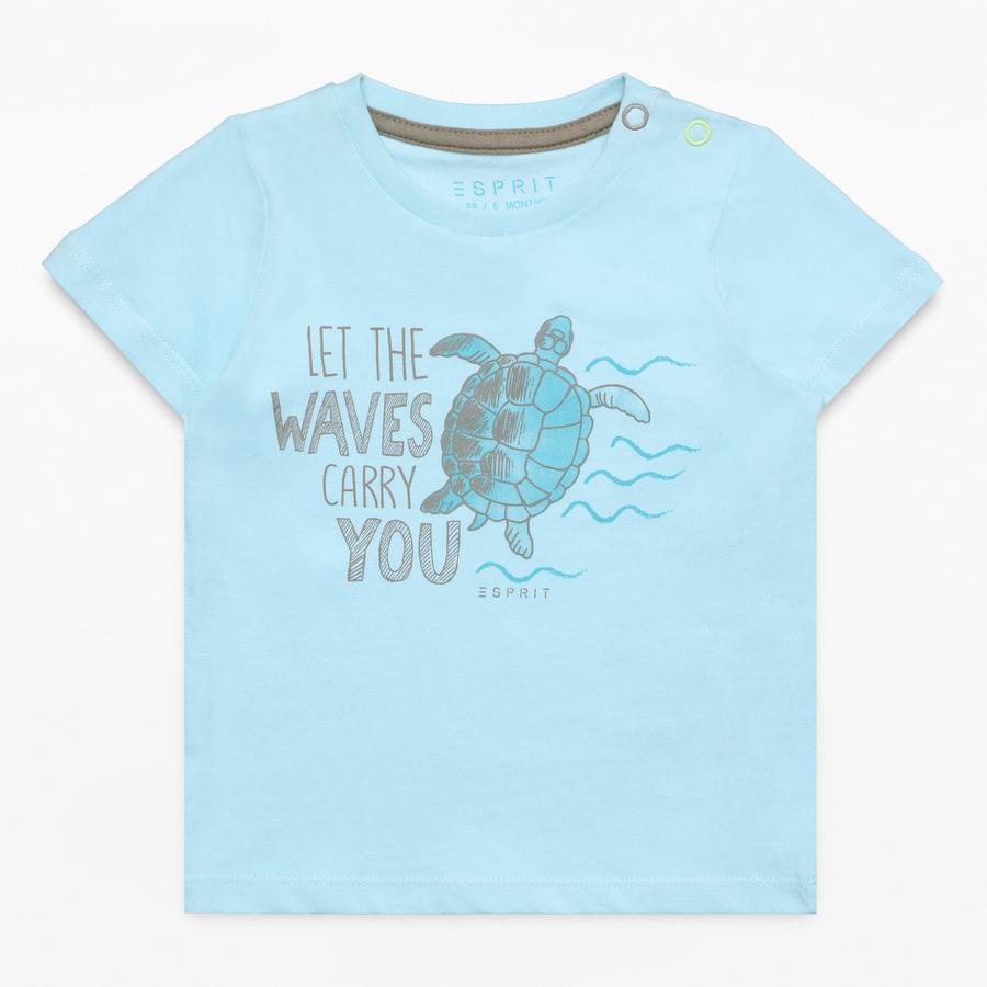ESPRIT Chlapecké tričko light sea