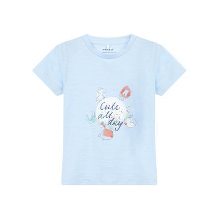 name it Girl s T-Shirt Gaman cachemire Gaman bleu