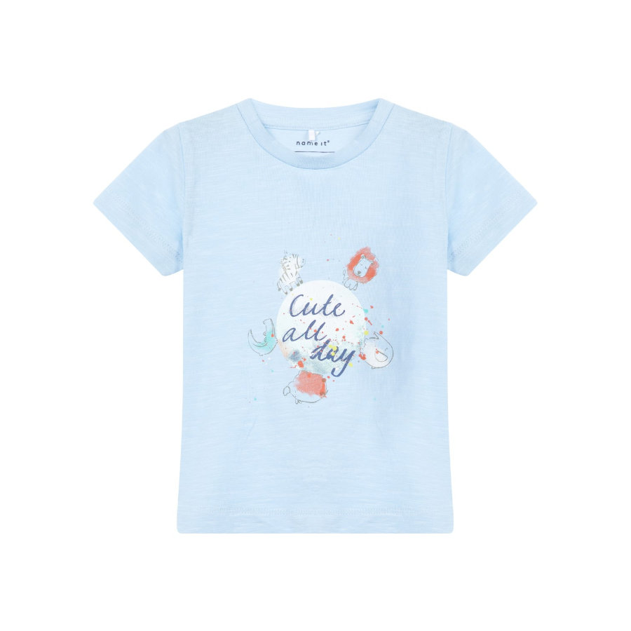 name it Girl s T-Shirt Gaman cashmere blue.