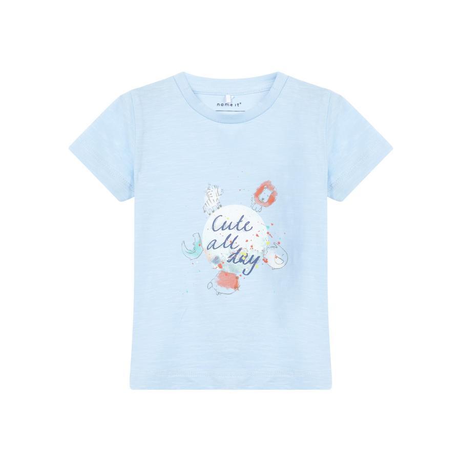NAME IT Tyttöjen t-paita Gaman kashmirinsininen
