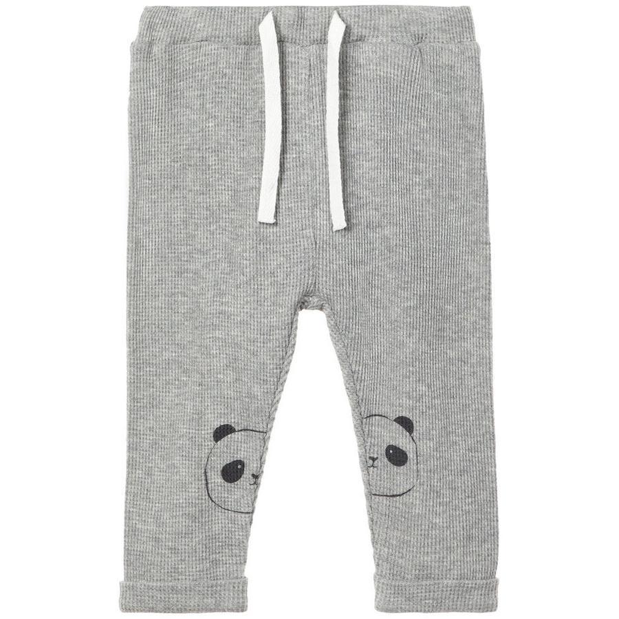 name it Pantalon de survêtement Ubiega gris mélangé