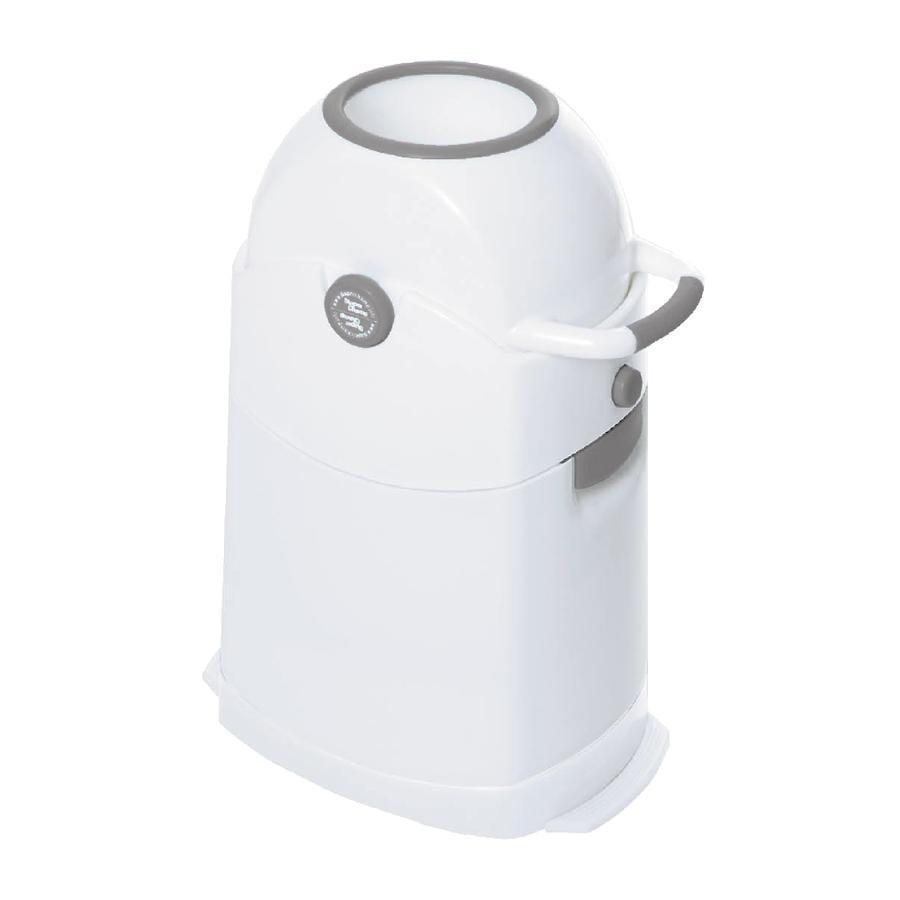 Diaper Champ Vaipparoskis regular hopeanharmaa