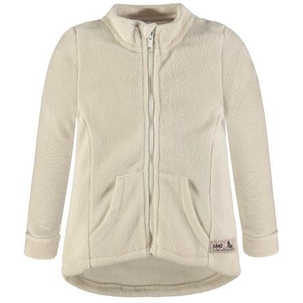 KANZ Fleece-takki, valkoinen