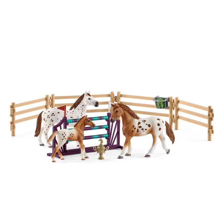 Schleich Figurine entraînement de Lisa concours Horse Club 42433