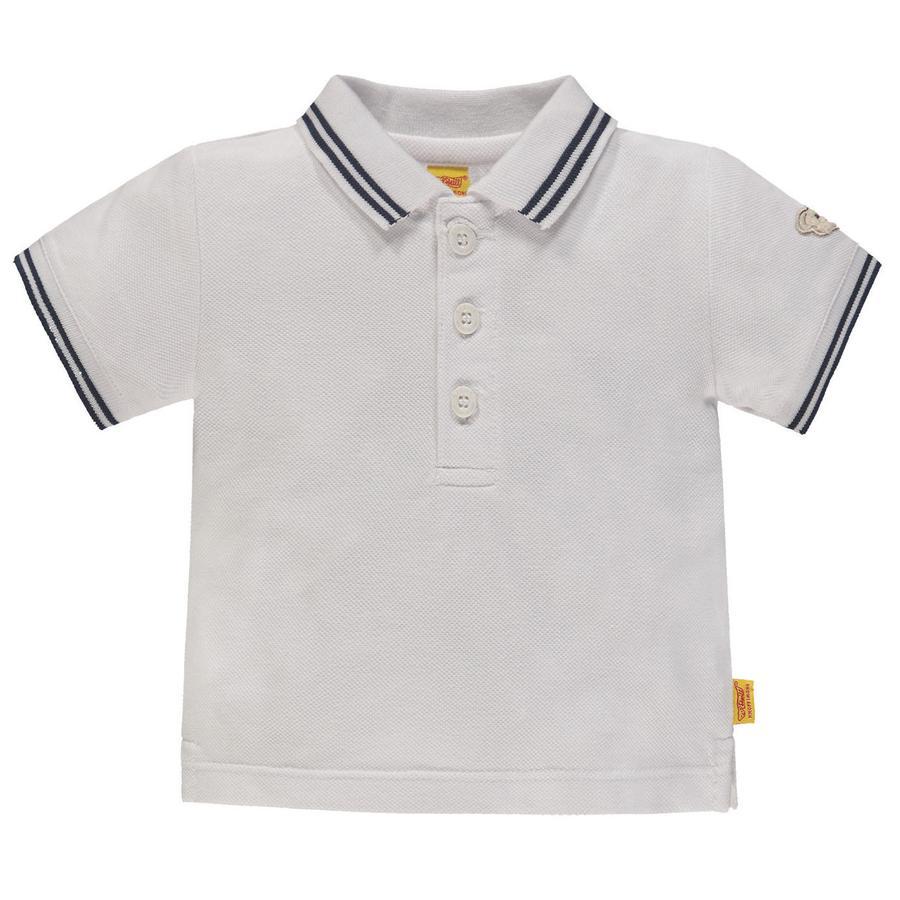 Steiff Boys Polo manches courtes, blanc