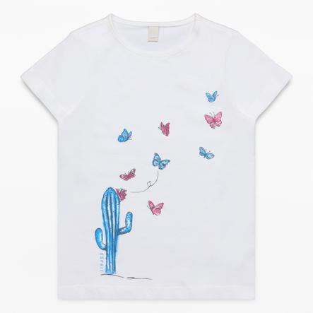 ESPRIT Girl s T-Shirt blanc cassé