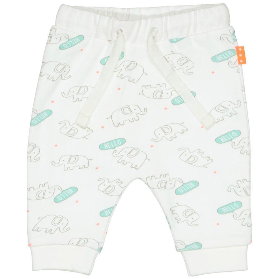 STACCATO Spodnie o białym wzorze.