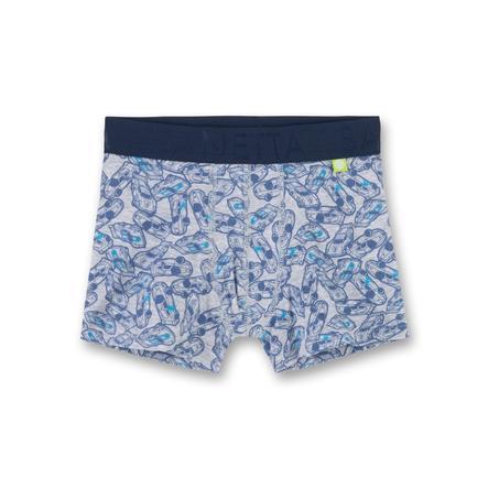 Sanetta Boys Shorts lichtgrijs melange