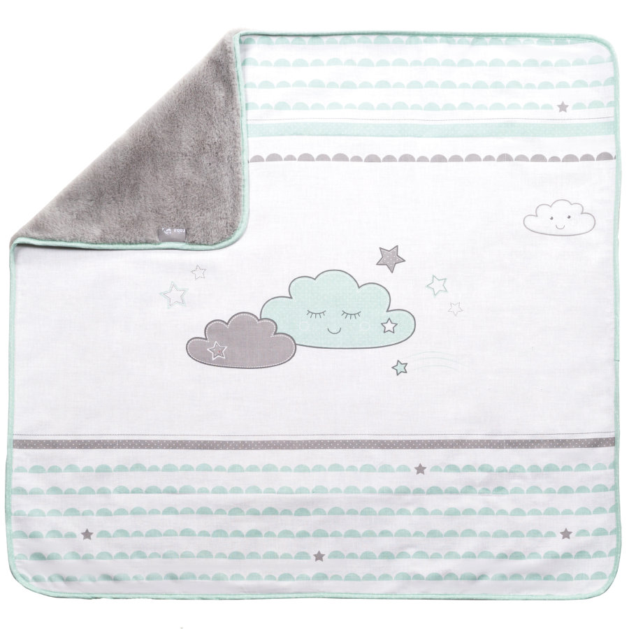 Roba Tæppe 80 x 80 cm Happy Cloud