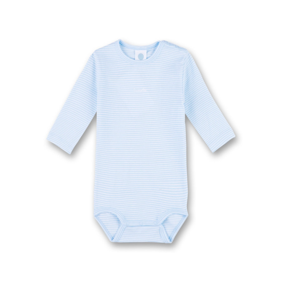 Sanetta Boys Langarmbody soft blue