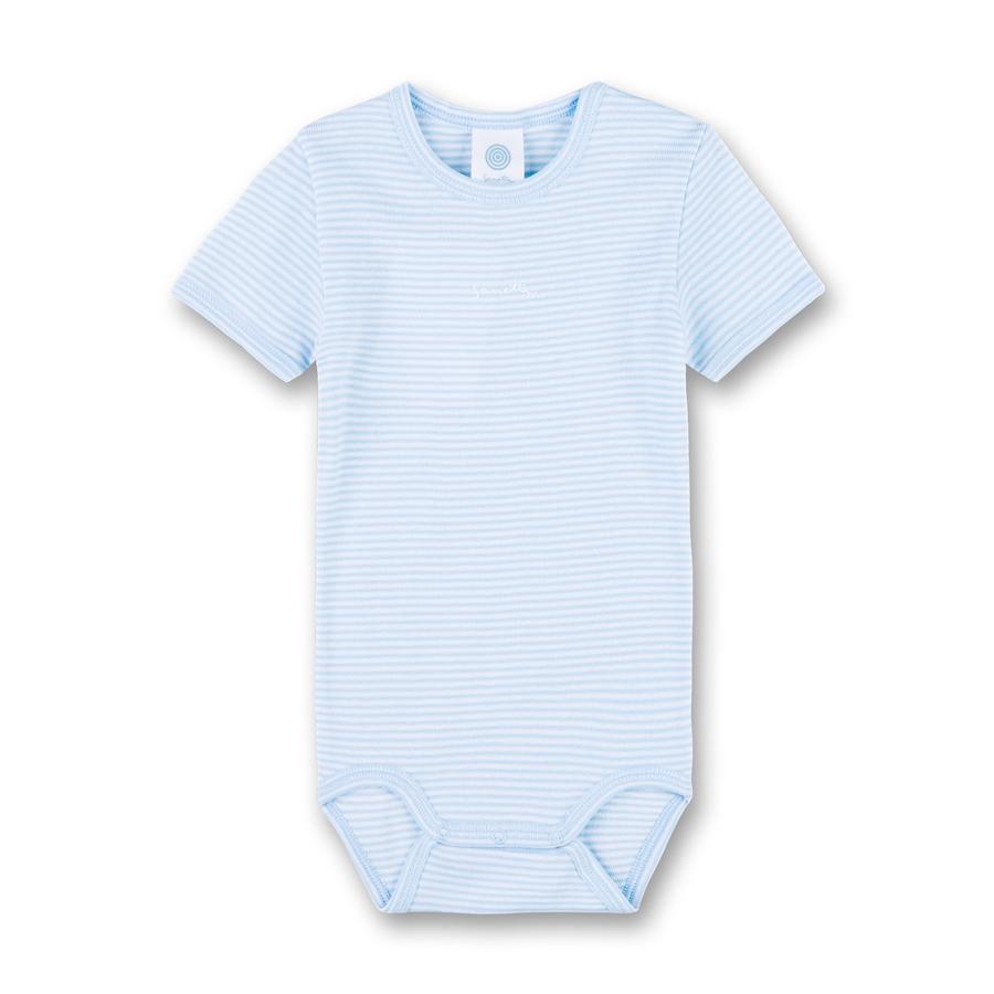 Sanetta Body z krókim rękawkiem Soft Blue