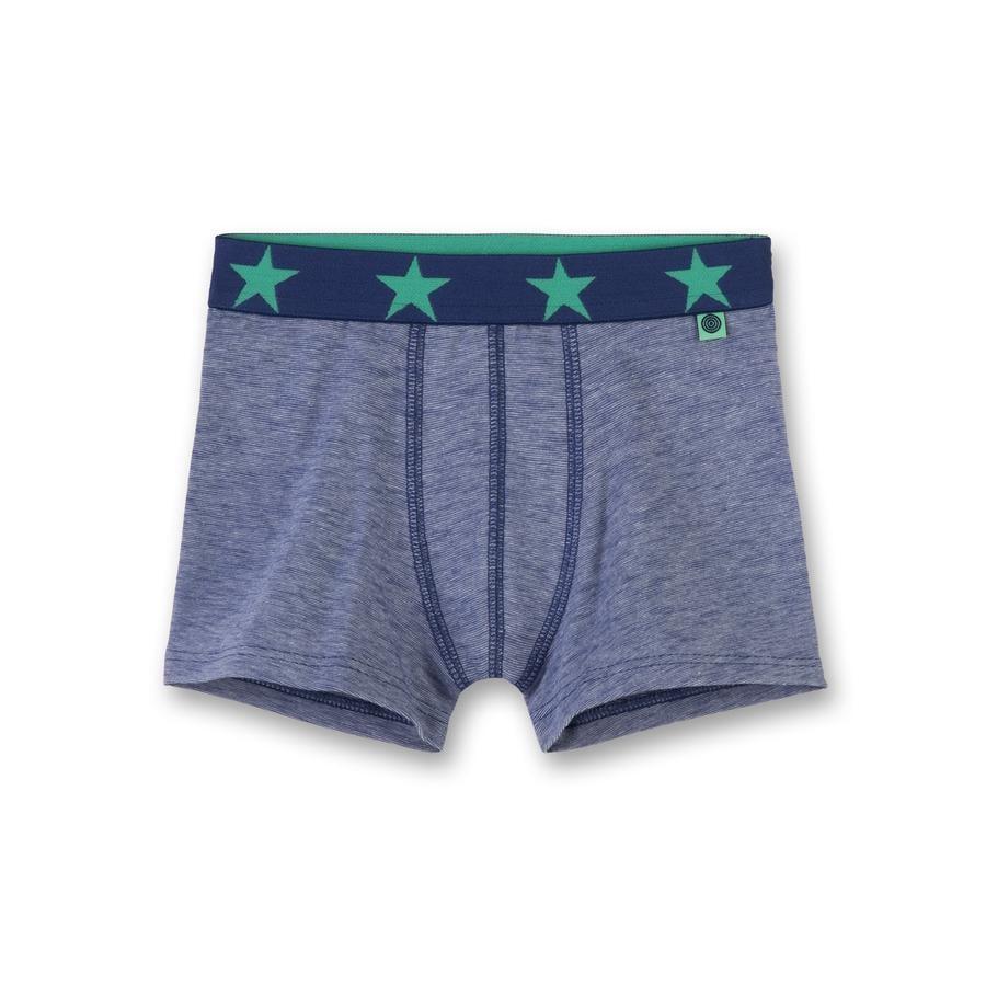Sanetta Boys Shorts Stars blauw melange