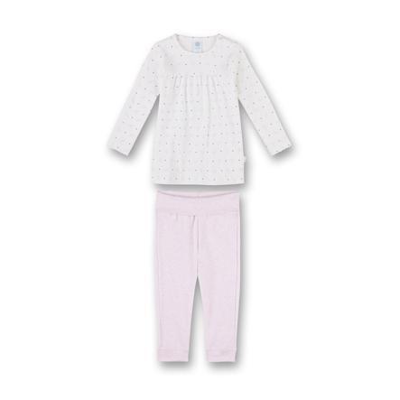 Sanetta Girls Schlafanzug broken white