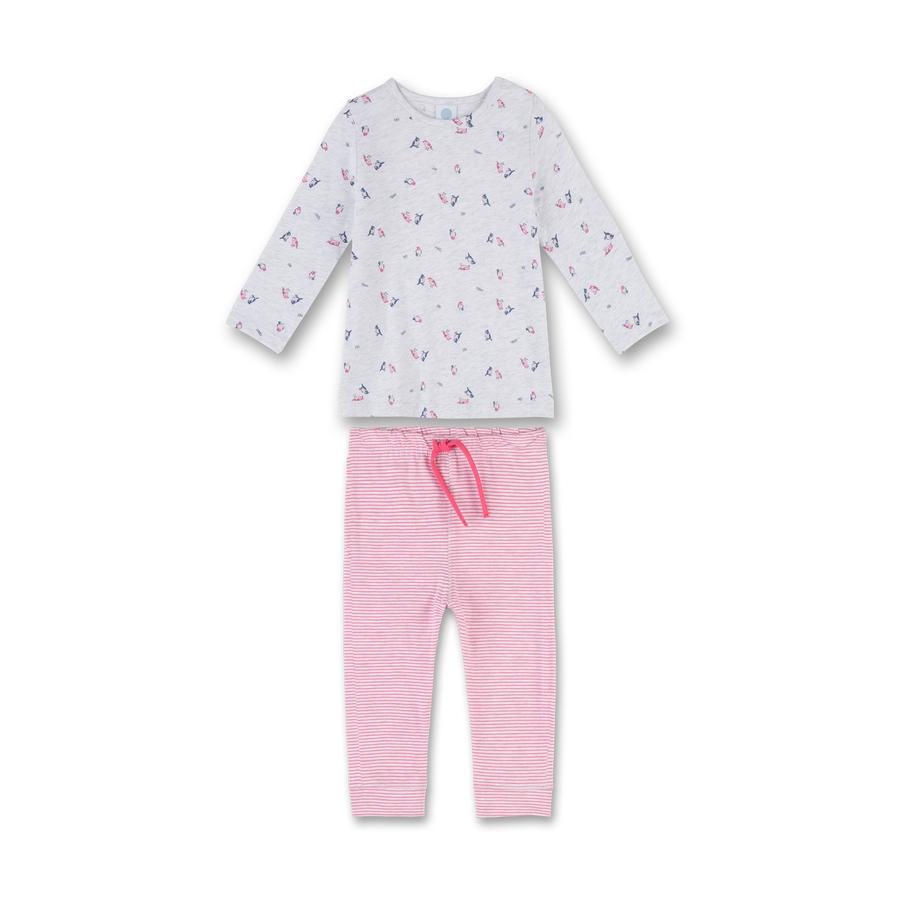 Sanetta Boys Pyjama's zandmelange