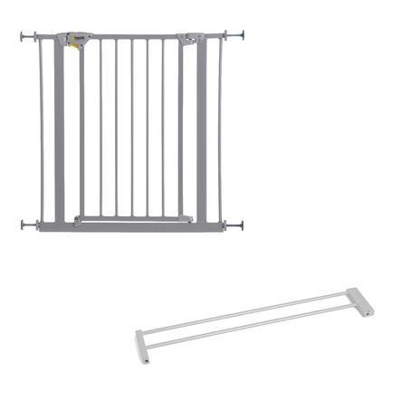 HAUCK dørgitter Trigger Lock silver forlænger 14 cm
