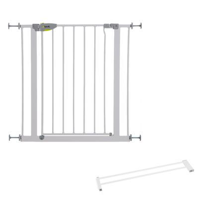 HAUCK Türschutzgitter Squeeze Handle silver Verlängerung 14 cm