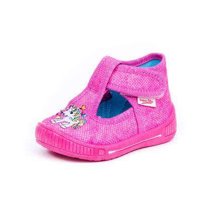 superfit Girls Hausschuh Bully Einhorn pink kombi