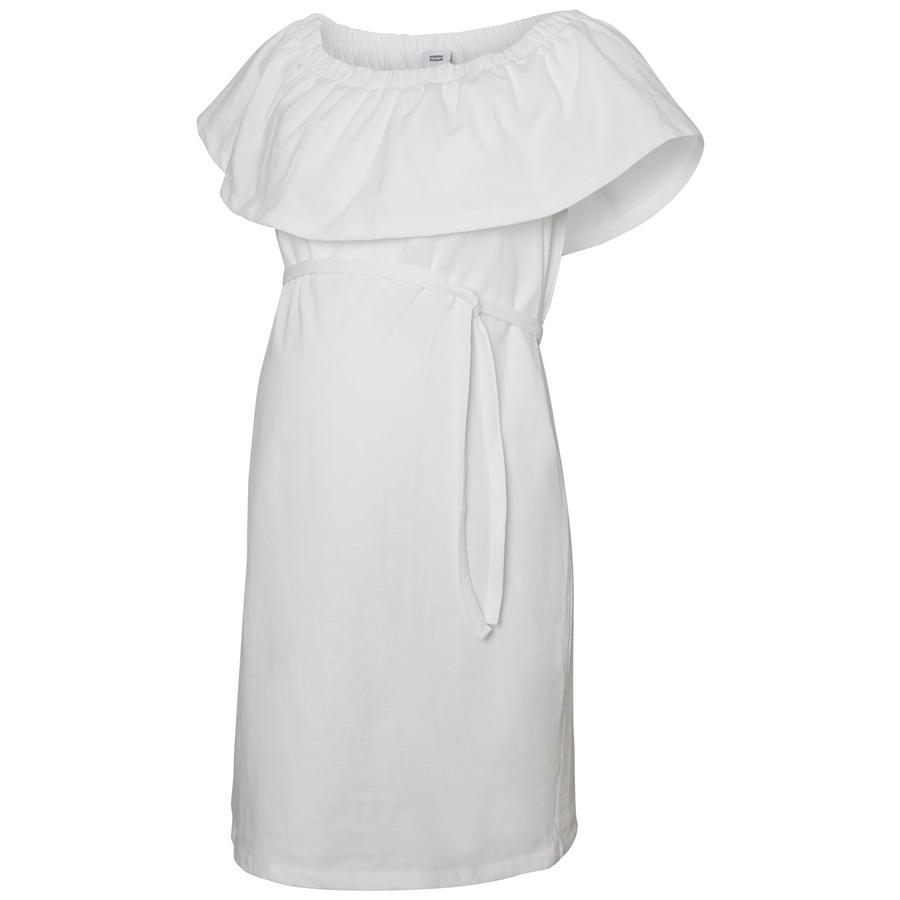 mama licious Suknia ciążowa MLELSA Jasno-biała