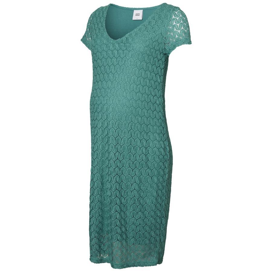 mama;licious Umstandskleid MLSITA Green-Blue Slate