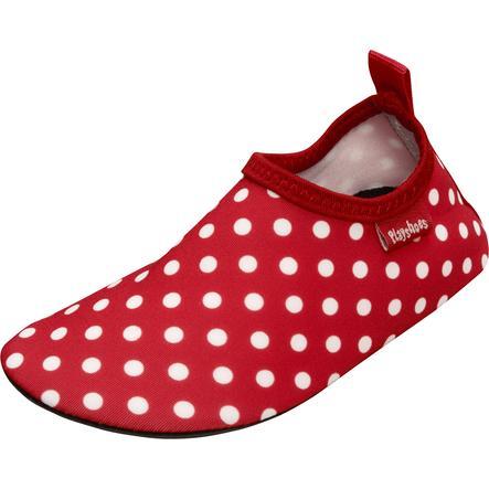 Playshoes UV-bescherming Aquaschoen uni rood