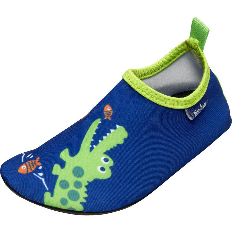 Playshoes-kylpykenkä krokotiili marine