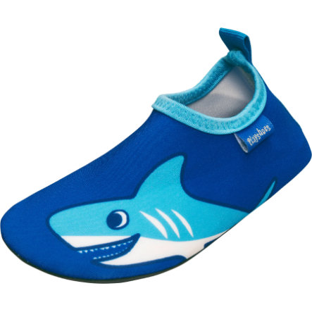 Playshoes Scarpa da bagno Hai uni uni blu