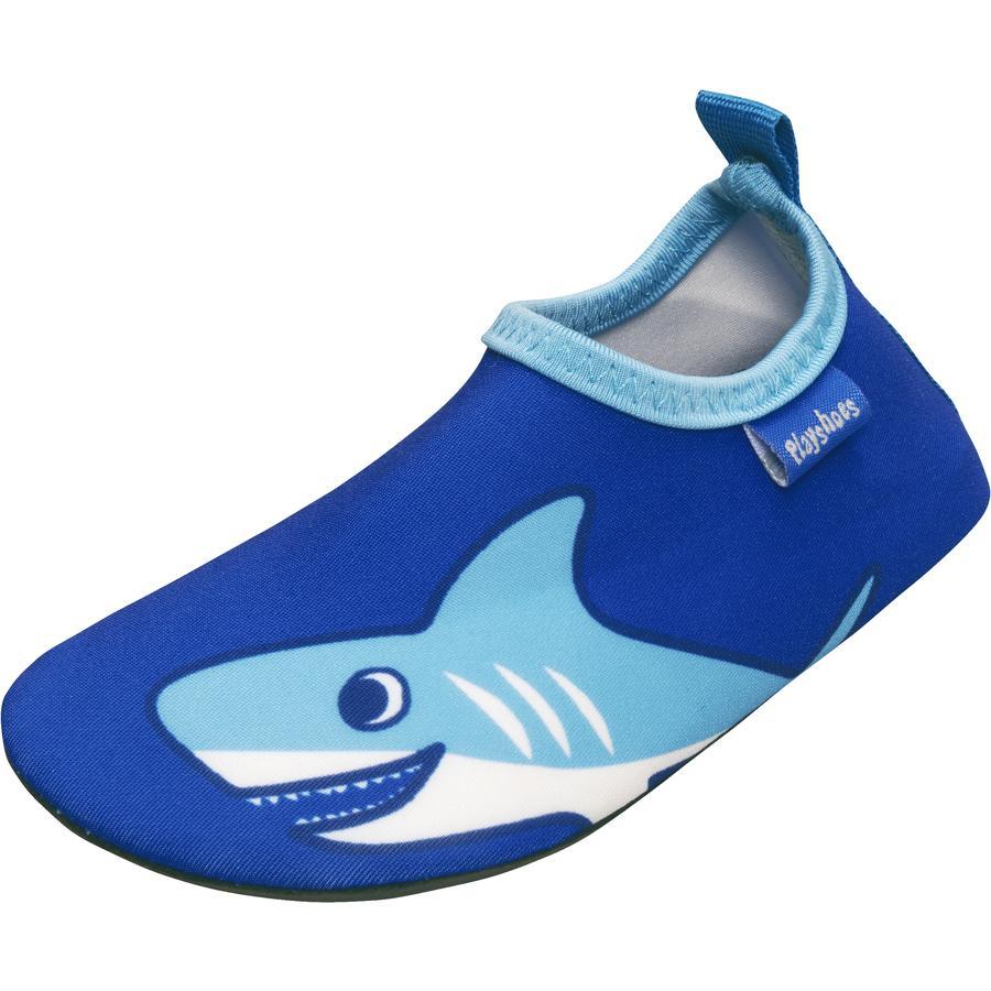 Playshoes Zapatillas de Baño Hai uni azul