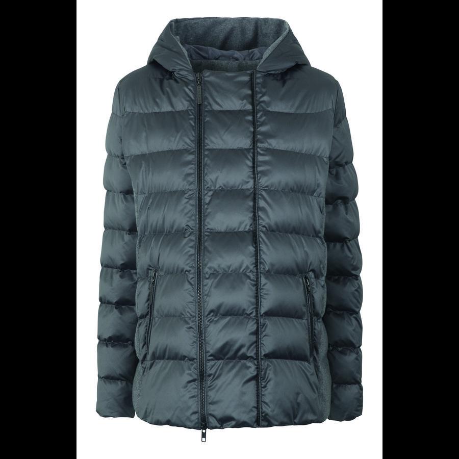 bellybutton Pikowana kurtka z kapturem, szara